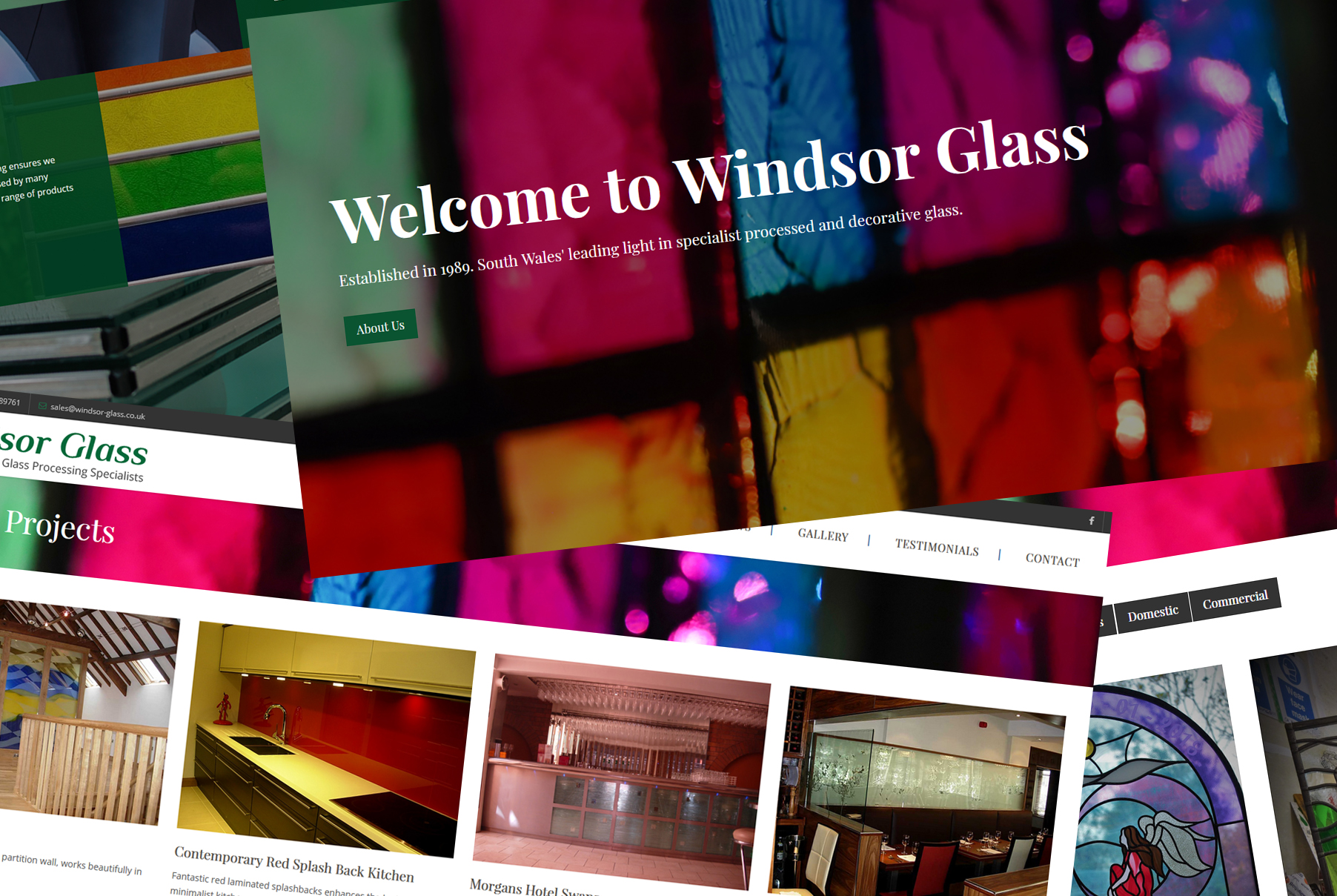 Windsor Glass Launch New Website